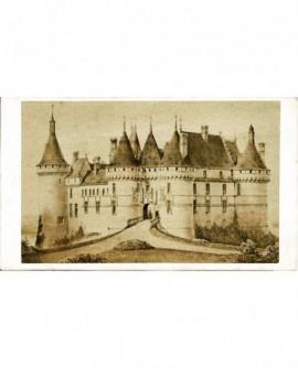 Façade du château de Chaumont
