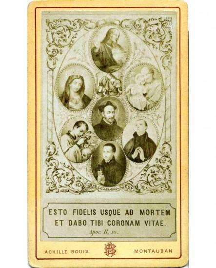 Image pieuse (d'un collège de Jésuites)
