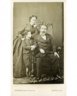 Napoléon III, Impératrice Eugénie et le prince Impérial