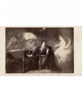 l'inspiration du musicien (peinture)