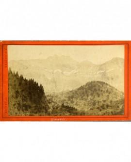 Paysage de montagne (canton de St Gall)