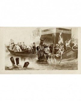 Peinture de Delaroche : Richelieu au siège de la Rochelle