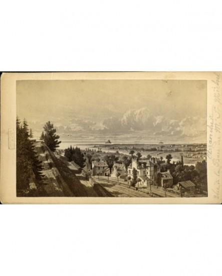 Vue de la baie du Mont Saint-Michel à Avranches