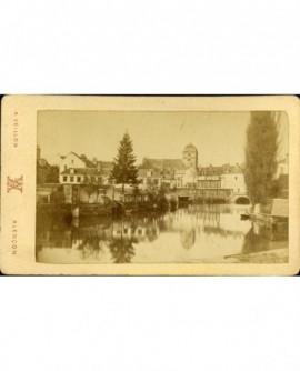 Vue d'Alençon, au bord de la Sarthe