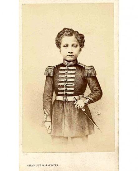 Prince Impérial enfant, en uniforme,