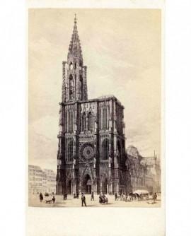 Cathédrale de Strasbourg (lithographie)