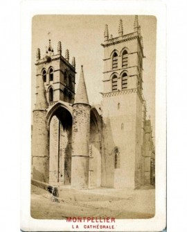 Montpellier. La cathédrale N.D. des Tables