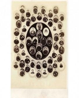mosaïque d'ecclésiastiques (missionnaires?)