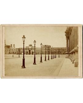 Vue des Tuileries et de l\'arc du Carrousel