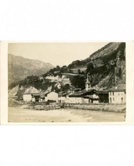 Vue de Salins-les-Bains. Savoie