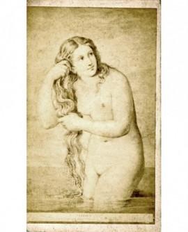 Peinture: Vénus sortant de l\'onde