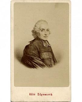 Portrait de l'Abbé Edgeworth (dernier confesseur de Louis XVI)