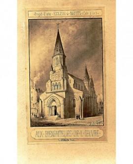 Projet d'une église à Nuits