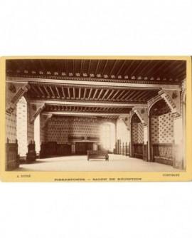Château de Pierrefonds: la salle de réception