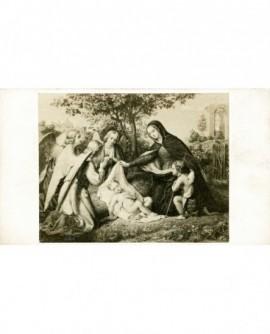 """Peinture: """"L'adoration des anges"""""""