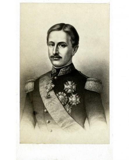 Portrait du Roi de Naples en grand uniforme.