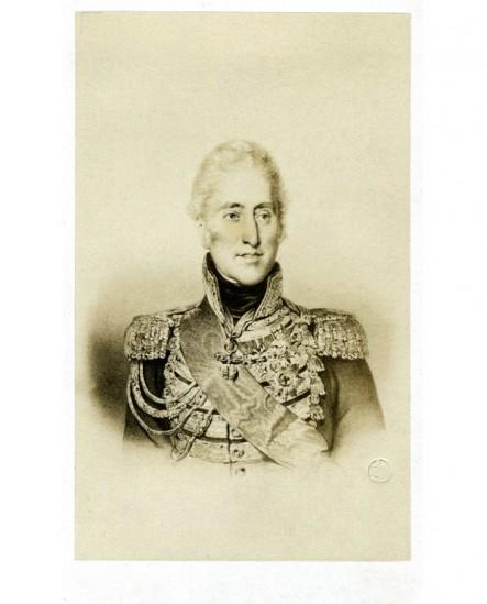 Portrait lithographié de Charles X