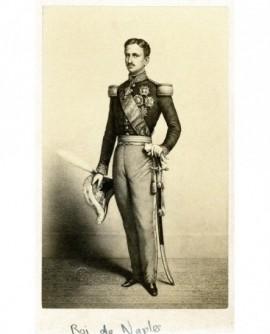 Portrait en pied du Roi de Naples