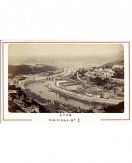 Vue de Lyon: les usines Gillet du quai de Serin