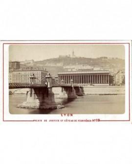 Vue de Lyon: Palais de Justice et Côteau de Fourvières. n° 10