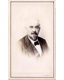Portrait d'un homme à impériale (blanche)