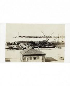 Port de Marseille: Joliette avant les travaux de P. Talabot