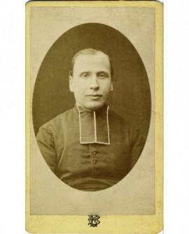 Portrait d'un ecclésiastique en rabat