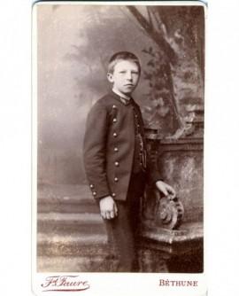 Jeune garçon en uniforme (Enfant de troupe)