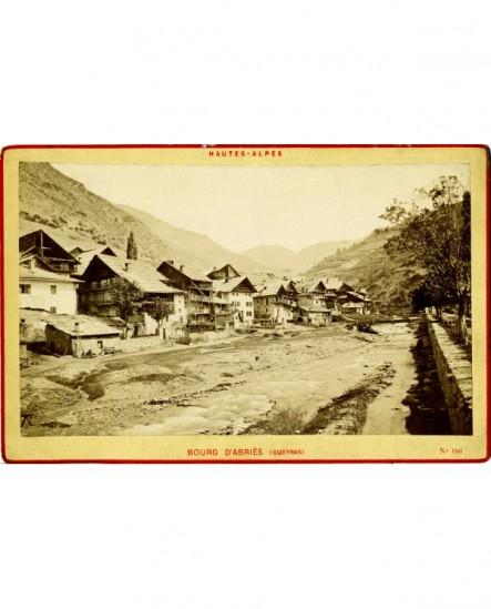 Vues des Alpes: Abriès (Queyras)