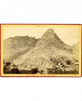 Vues des Alpes: Presbytère de Pallon (commune de Freissinières)