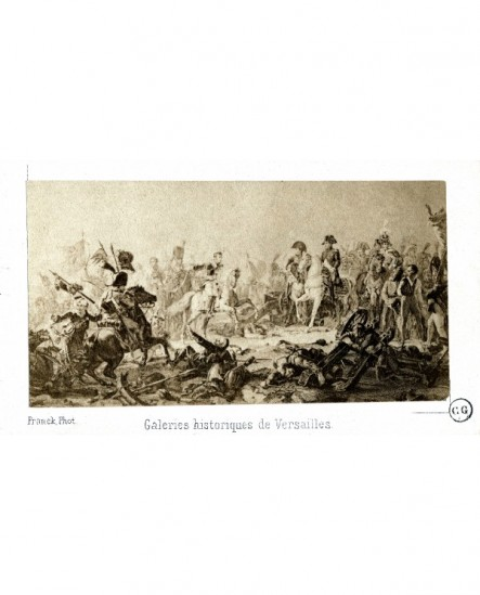 Peinture de Gérard: La bataille d\'Austerlitz