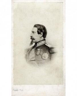Portrait de Naploéon III, de profil