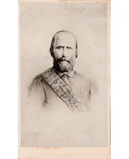 Homme avec cordon maçonnique de rite égyptien (Garibaldi)