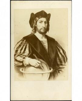 Reproduction d'un tableau (de Holbein?)