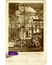 Construction statue de la Liberté. Bartholdi dans ateliers d\'Effel