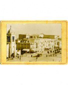 Vue d'une rue de Tunis