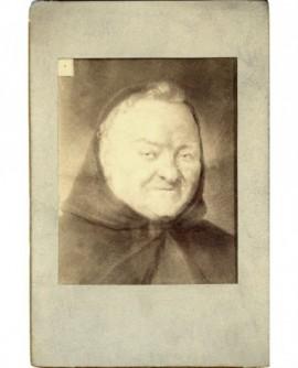 Portrait d'un prêtre, Pére Emmanuel Capucin
