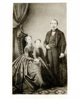 La famille impériale. Souvenir de l'exposition universelle de 1867
